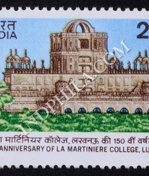 150 ANNIVERSARY OF LA MARTINIERE COLLEGE LUCKNOW COMMEMORATIVE STAMP