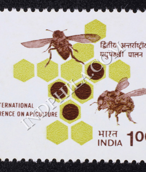 2ND INTERNATIONAL CONFERENCEON APICULTURE COMMEMORATIVE STAMP