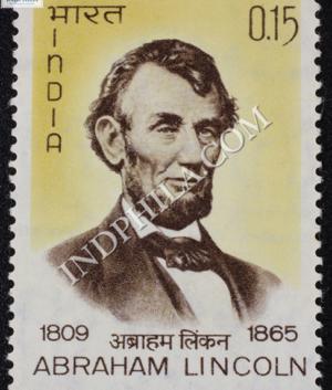 ABRAHAM LINCOLN 1809 1865 COMMEMORATIVE STAMP