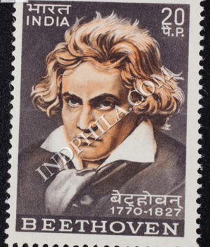 BEETHOVEN 1770 1827 COMMEMORATIVE STAMP