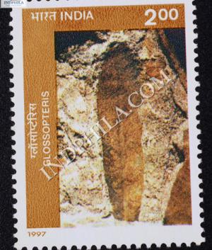 BIRBAL SAHNI INSTITUTE OF PALAEOBOTANY LUCKNOW GLOSSOPTERIS COMMEMORATIVE STAMP
