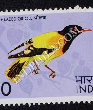 BIRDS BLACKHEADED ORIOLE COMMEMORATIVE STAMP