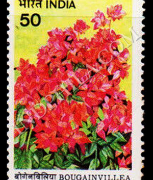 BOUGAINVILLEA HB SINGH COMMEMORATIVE STAMP