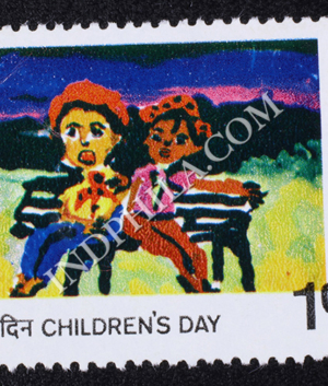 CHILDRENS DAY FRIENDS COMMEMORATIVE STAMP