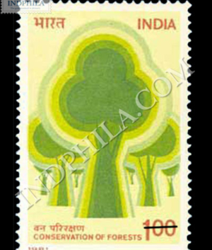 CONSERVATION OF FORESTS COMMEMORATIVE STAMP