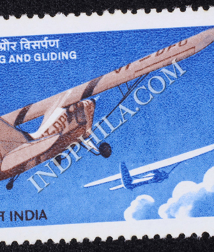 FLYING AND GLIDING COMMEMORATIVE STAMP