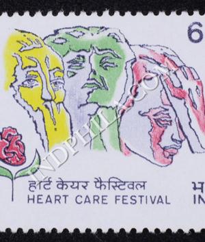 HEART CARE FESTIVAL COMMEMORATIVE STAMP