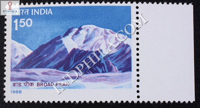 HIMALAYAN PEAKS BROAD PEAK COMMEMORATIVE STAMP