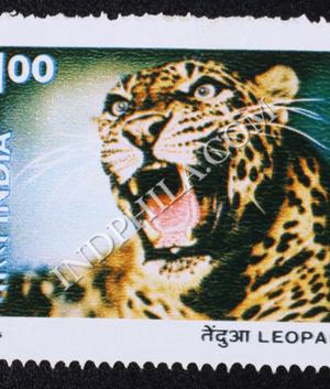 INDIAN WILD LIFE LEOPARD COMMEMORATIVE STAMP