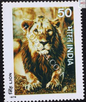 INDIAN WILD LIFE LION COMMEMORATIVE STAMP
