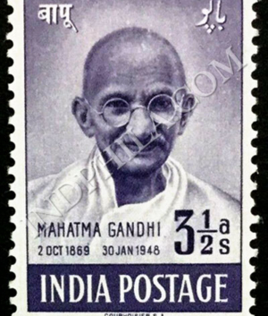MAHATMA GANDHI 2 OCT 1869 30 JAN 1948 S2 COMMEMORATIVE STAMP