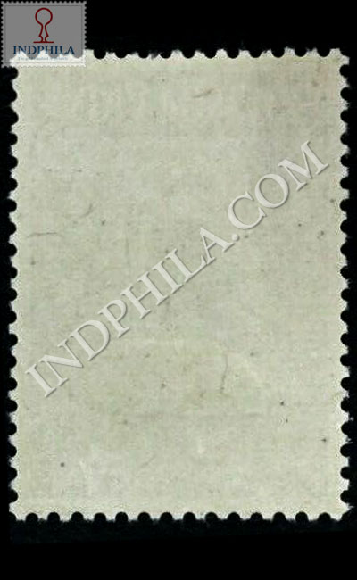 MAHATMA GANDHI 2 OCT 1869 30 JAN 1948 S3 COMMEMORATIVE STAMP BACK
