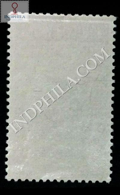 MAHATMA GANDHI 2 OCT 1869 30 JAN 1948 S4 COMMEMORATIVE STAMP BACK