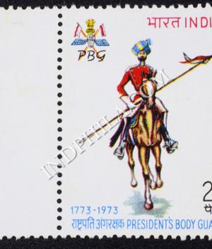 PRESIDENTS BODY GUARD 1773 1973 COMMEMORATIVE STAMP