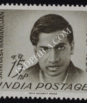 SRINIVASA RAMANUJAN 1887 1920 COMMEMORATIVE STAMP