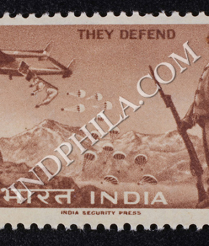 THEY DEFEND S2 COMMEMORATIVE STAMP