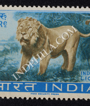 WILD LIFE SERIES INDIAN LION COMMEMORATIVE STAMP