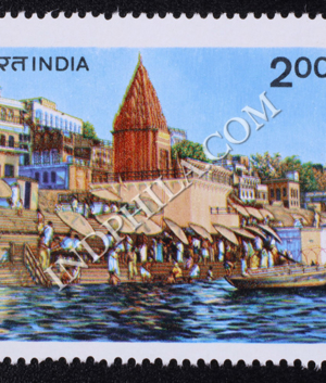 WORLD TOURISM ORGANISATION GHATS OF VARANASI COMMEMORATIVE STAMP