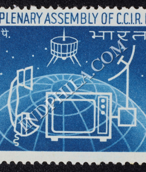 XIITH PLENARY ASSEMBLY OF C C I R COMMEMORATIVE STAMP