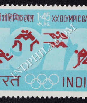 XX OLYMPIC GAMES S2 COMMEMORATIVE STAMP