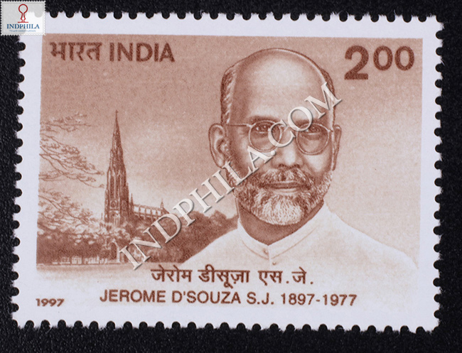 India 1997 Zerome Dsouza Mnh Single Stamp Largest Online Dealer Portal For Stamps Of India