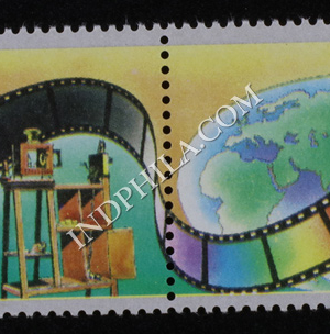 INDIA 1995 CINEMA 100 YEARS MNH SETENANT PAIR
