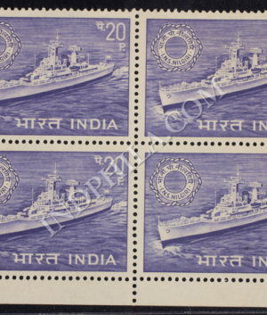 INS NILGIRI BLOCK OF 4 INDIA COMMEMORATIVE STAMP