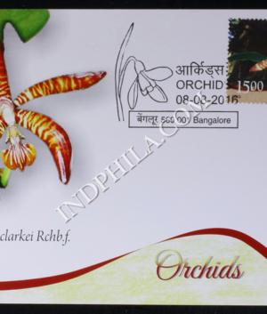 INDIA 2016 ORCHIDS MAXIM CARDS